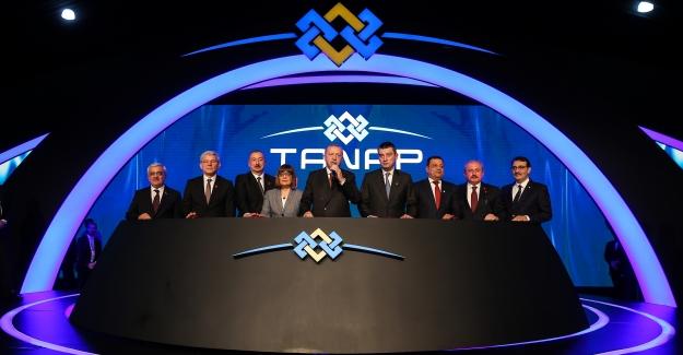 TANAP Avrupa bağlantısı tamamlandı