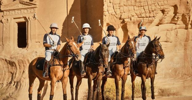 """Dünyanın ilk """"çöl polo turnuvası"""" Suudi Arabistan'da yapıldı"""