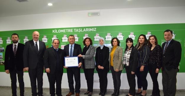 Bursa'da ilk 'Sıfır Atık Belgesi' Sütaş'a verildi