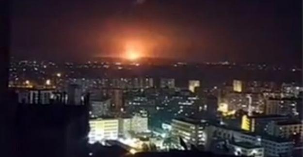 'İsrail, Suriye'de Şam dahil birçok bölgeye füze fırlattı'