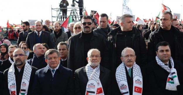 Yenikapı'da Büyük Kudüs Mitingi: 'Bugün Kudüs'e sahip çıkamazsak yarın İstanbul'u gündeme getirecekler'