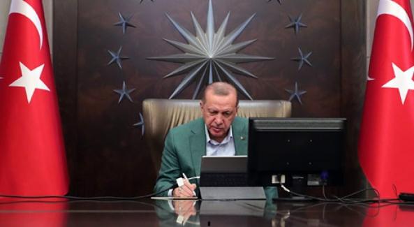 """Cumhurbaşkanı Erdoğan'dan son tedbir açıklaması: """"Şehirler arası seyahatler valilik iznine bağlanmıştır"""""""