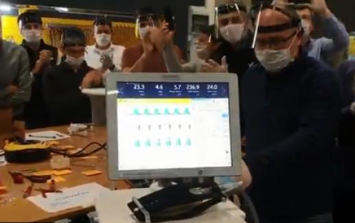 İşte Yerli solunum cihazının ilk prototipi!..