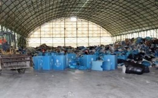 Mudanya Belediyesi, 80 ton atığı ekonomiye kazandırdı.