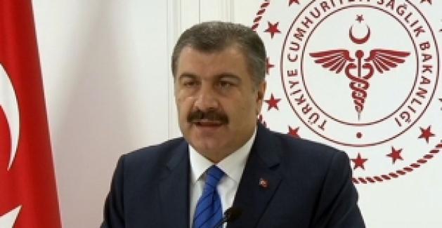 """Sağlık Bakanı Koca: """"01 Nisan itibariyle 277 Vatandaşımız hayatını kaybetti"""""""