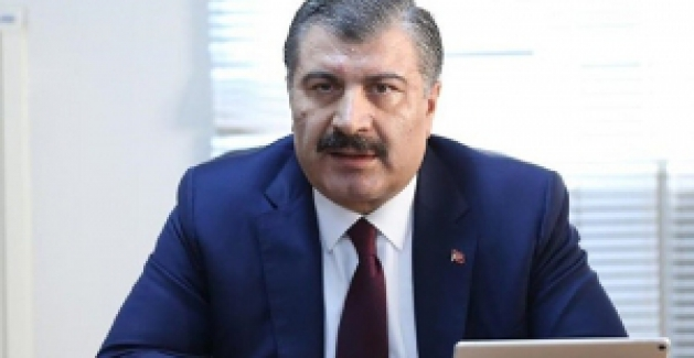 """Sağlık Bakanı Koca: """"İlk defa yoğun bakıma giren hasta sayısal olarak eksiye düştü"""""""