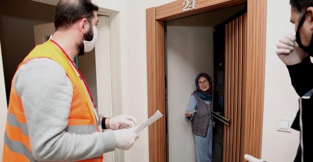 Sokağa çıkma yasağında Nilüfer Belediyesi halkın ihtiyaçlarını karşılıyor