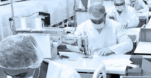 VAKKO'dan Sağlık Çalışanları için  3 milyon maske üretimi