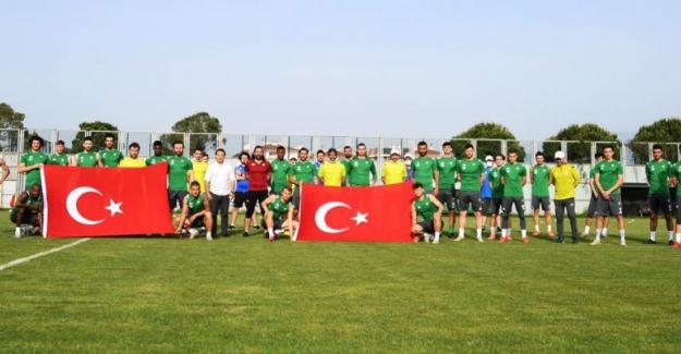 Bursaspor'dan Bayram Kutlaması