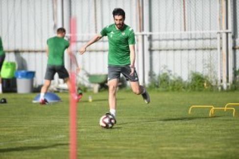 Bursaspor Takımı Özlüce çalışmalarında