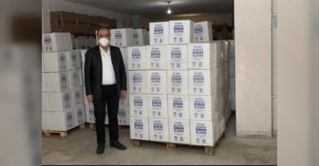 Mudanya Zeytin Dalı Projesi'nden 4 Bin 166 Aileye Erzak Dağıtıldı