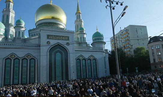 Rusya Müslümanlarından Türkiye'deki dindaşlarına Ramazan Bayramı mesajı