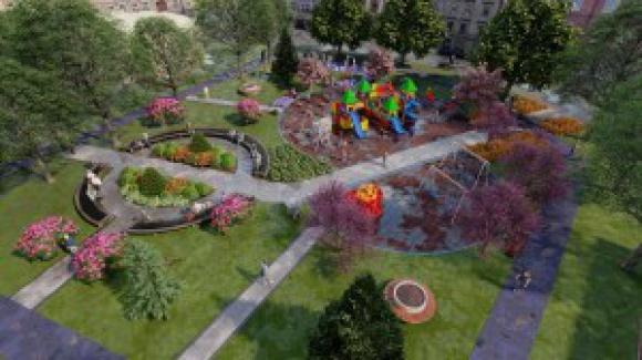 Yıldırım İlçe'de yeni parklar yapılıyor