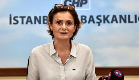 CHP  İstanbul İl Başkanı Canan Kaftancıoğlu'nun hapis cezası onandı!