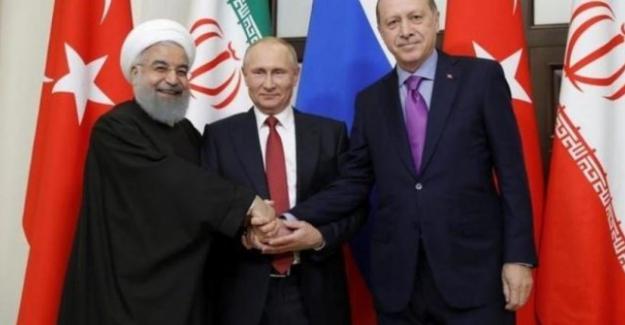 Putin'den üçlü zirve açıklaması; Yarın Erdoğan, Putin ve Ruhani video konferansı yapılıyor