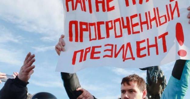 "Rusya'da Putin'in ""Anayasa Değişikliği"" referandumuna karşı protesto!"