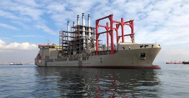 Türkiye Libya'ya yüzer elektrik santrali gönderiyor