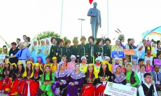 23. Türk Boyları Şöleni Yalova'da başarıyla gerçekleştirildi