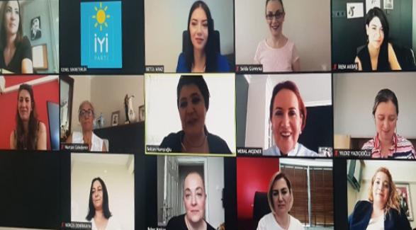 """Akşener: """"İstanbul Sözleşmesinin yanındayız.."""""""