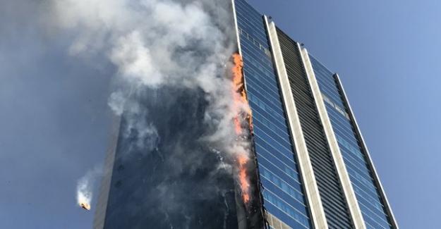 Ankara'da yangın! Plazada can pazarı