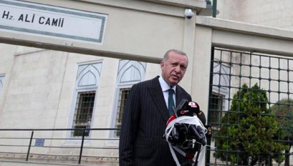 """Cumhurbaşkanı: """"Ayasofya'nın esaret zinciri sökülüp atılmıştır"""""""