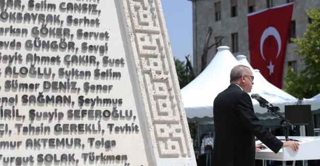 """Erdoğan: """"Dünyada gazi unvanını bu kadar hak eden başka bir Meclis bilmiyorum"""""""