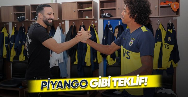 Fenerbahçe'ye piyango vurdu!