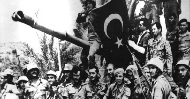 KIBRIS BARIŞ HAREKÂTININ 46. YIL DÖNÜMÜ KUTLU OLSUN!