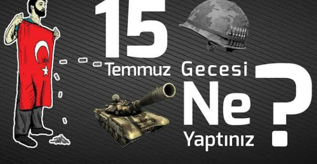 """MESUT AYDENİZ yazdı: """"15 Temmuz 2016 Hain Cunta Girişimi"""""""