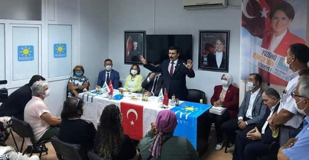 Selçuk Türkoğlu Mudanya'da büyük coşkuyla karşılandı
