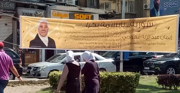 """Suriye seçimleri: """"İleriye bakmalıyız, arkaya değil"""""""