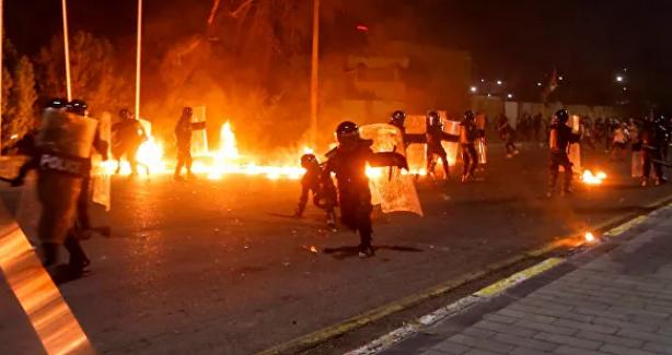 Basra kentinde parlamento temsilciliğine şiddetli saldırı
