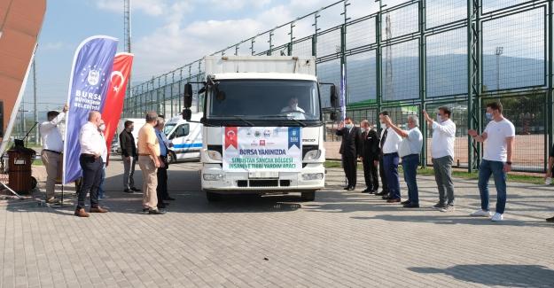 Bursa'nın yardım eli Sırbistan'a uzandı