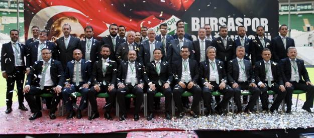 Bursaspor Kulübü Olağanüstü Seçimli Genel Kurul Toplantısı yapıyor