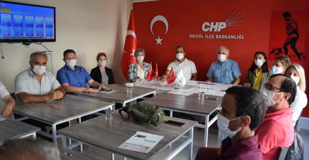 CHP il Başkanı Karaca Belediyelerin yarım kalmış yatırımlarını incelemeye aldı