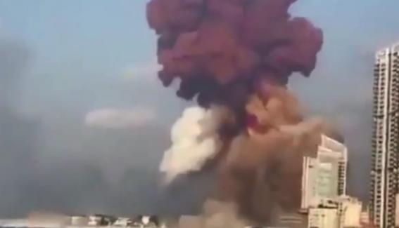 Lübnan'daki büyük patlamada en az 50 Kişi öldü 2 bin 700'ün üzerinde yaralı var