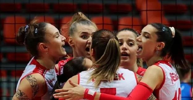 Türkiye Kadın Voleybol Milli Takımı 19 yaş altı Avrupa Şampiyonu oldu!..