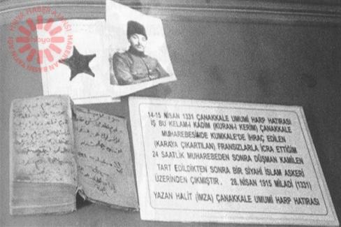 Asırlık savaş mirası kanlı Kur'an'ın kaybolduğu iddiası