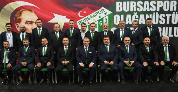 Bursaspor'un 28. Başkanlığına Erkan Kamat seçildi