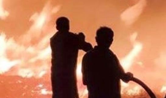Çanakkale Gökçeada'da yangın!..