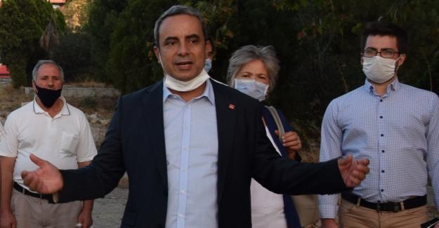 """CHP İl Başkanı Karaca:""""Hani buraya 600 yataklı bir hastane yapılacaktı?.."""""""