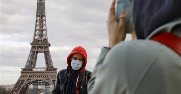 Fransa'da son 24 saatte 8 bin 577 Covid-19 vakası