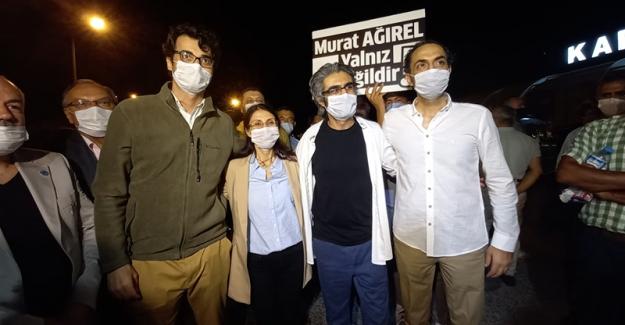 Gazeteciler Barış Pehlivyan, Hülya Kılınç ve Murat Ağırel tahliye oldu