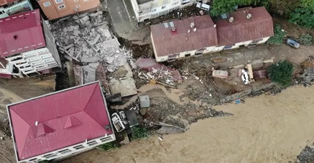 Giresun'daki sel felaketinde can kaybı 11'e yükseldi