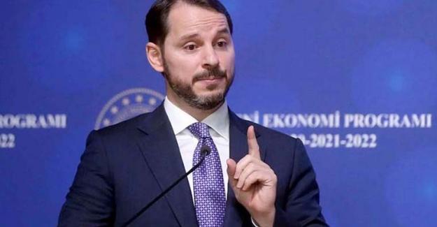 """Hazine ve Maliye BakanıBerat Albayrak: """"Büyüme 2020'de yüzde 0.3, 2021'de yüzde 5.8 olacak"""""""