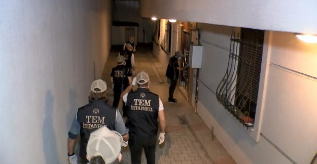 İstanbul'da FETÖ'cülere şafak baskını!