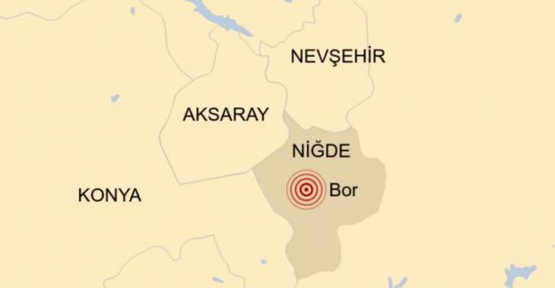 Niğde'de 5,1 büyüklüğünde deprem meydana geldi