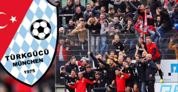 """7 Gollü Maçta Kazanan """"Türkgücü München"""""""