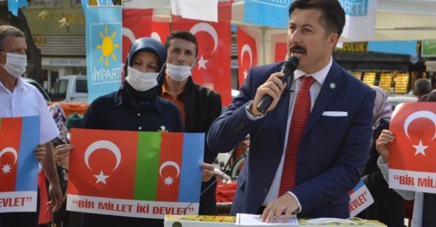 """Ercan Özel: """"Sizinleyiz Azerbaycan.."""""""