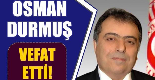Eski Sağlık Bakanlarından Prof. Dr. Osman Durmuş, hayatını kaybetti